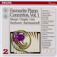 Favourite piano concertos Vol. 1
